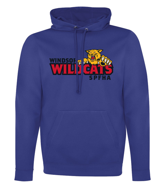 Wildcats Hockey Dri-Fit Youth Hoodie with Embroidered Applique & Personalization