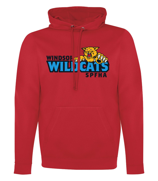 Wildcats Hockey Dri-Fit Adult Hoodie with Embroidered Applique & Personalization