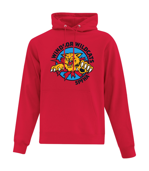 Wildcats Hockey Adult Cotton Sweatshirt with Full Colour Printing & Personalization