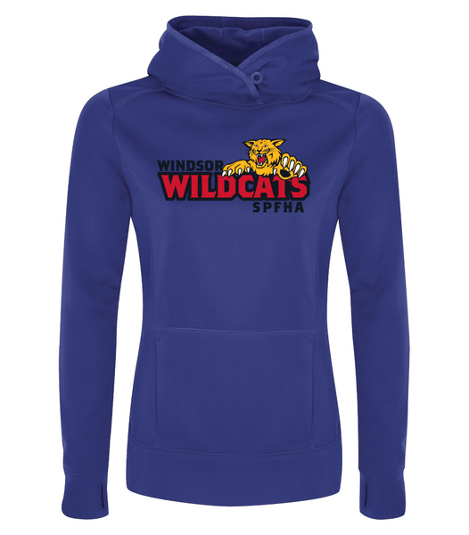 Wildcats Dri-Fit Ladies Sweatshirt with Embroidered Applique