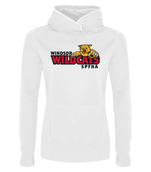 Wildcats Hockey Dri-Fit Ladies Sweatshirt with Embroidered Applique & Personalization