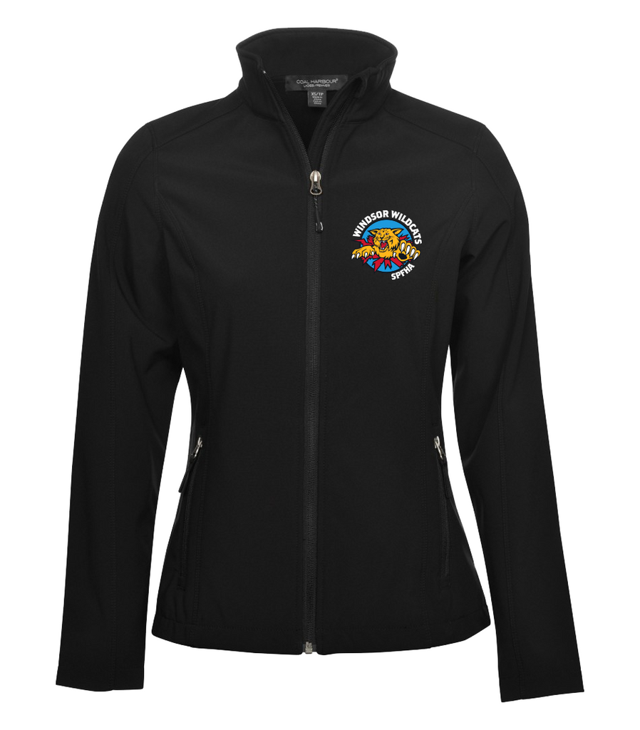 Wildcats Soft Shell Ladies Jacket with Embroidered Left Chest