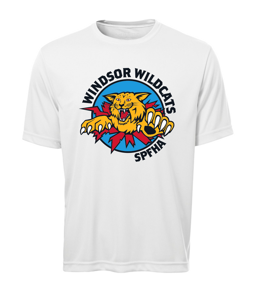 Wildcats Hockey Adult Dri-Fit Tee with Full Colour Printing