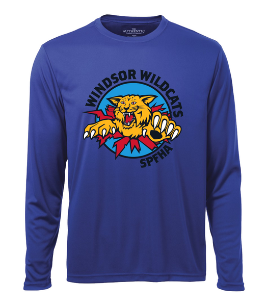 Wildcats Hockey Adult Dri-Fit Long Sleeve with Full Colour Printing