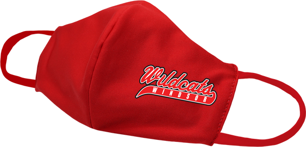 Wildcats Softball Face Mask with printed logo
