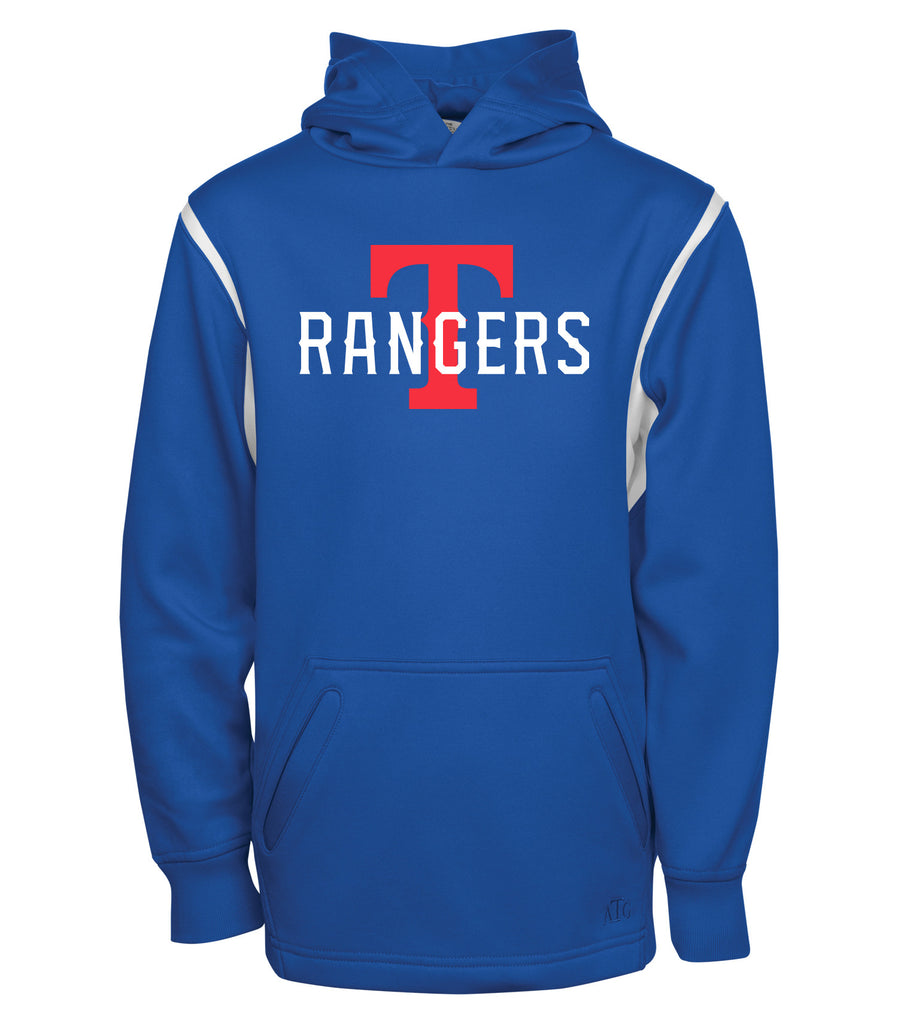 Rangers Youth 'Rangers Big T' Dri-Fit Two Colour Hoodie