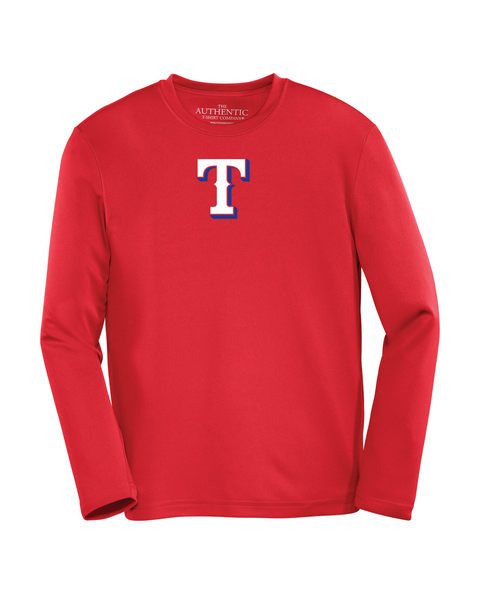 "Tecumseh Rangers Youth ""T"" Logo Dri-Fit Long Sleeve"