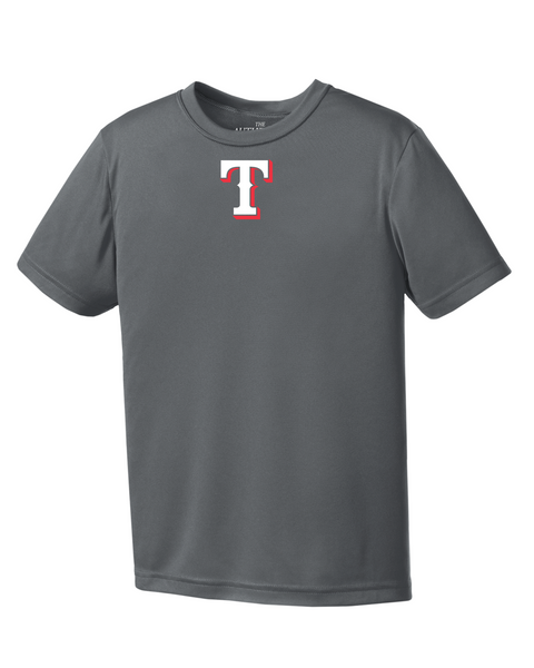 "Rangers Youth ""T"" Logo Youth Dri-Fit Tee"