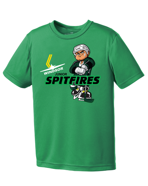Minor Hockey Youth Dri-Fit Mascot Tee