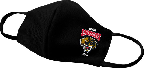 Sabrecats Face Mask with printed logo