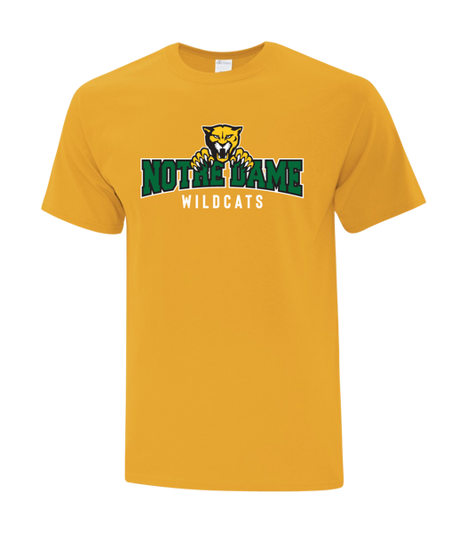 Wildcats Cotton T-Shirt with Printed logo YOUTH