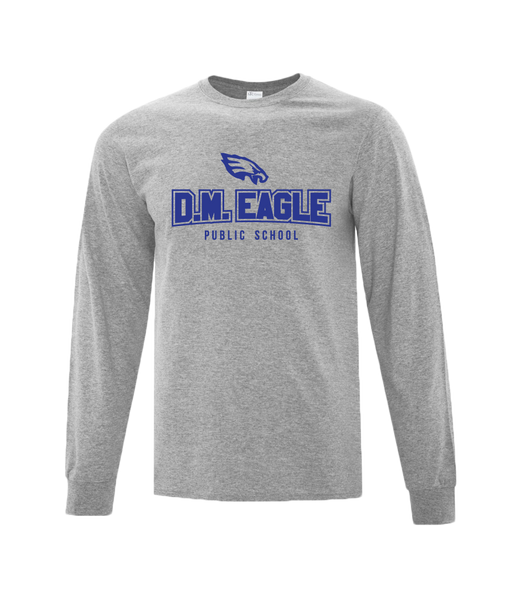 Eagles Youth Cotton Long Sleeve with Printed Logo