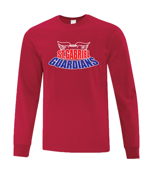 Guardians Adult Cotton Long Sleeve with Printed Logo