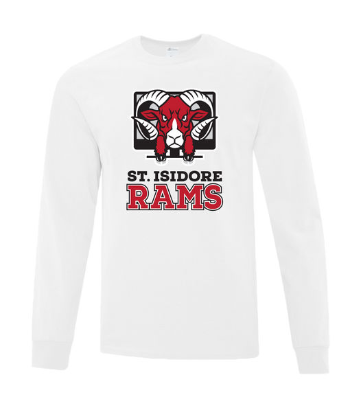 Rams Adult Cotton Long Sleeve