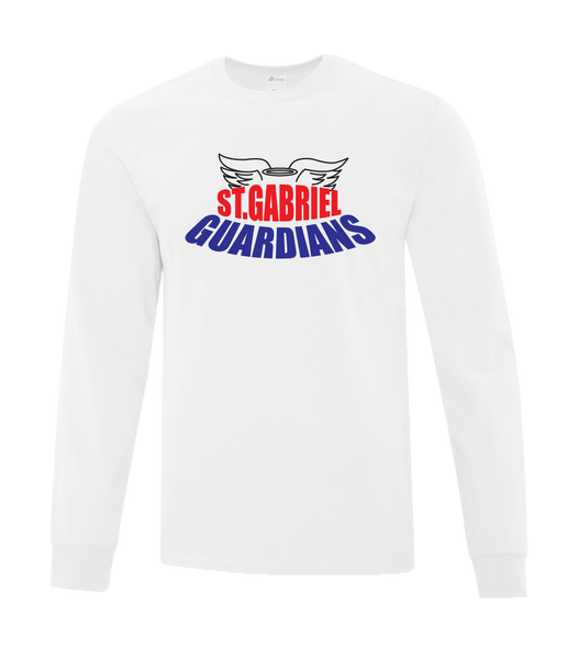 Guardians Youth Cotton Long Sleeve with Printed Logo
