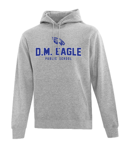 Eagles Adult Cotton Hooded Sweatshirt with Embroidered Applique