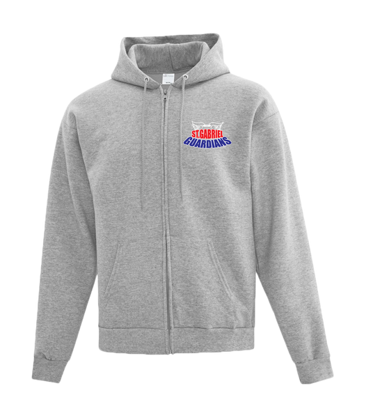 Guardians Adult Cotton Full Zip Hooded Sweatshirt with Personalized Lower Back