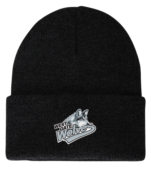 Wolves Knit Toque Cap ONE SIZE