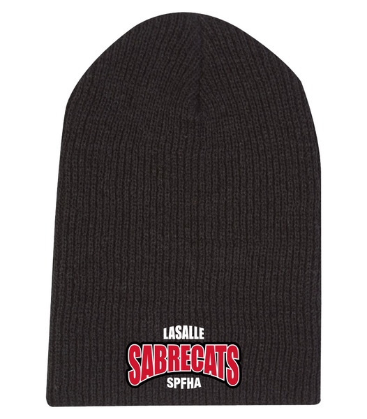 Sabrecats Knit Beanie with Embroidered Logo