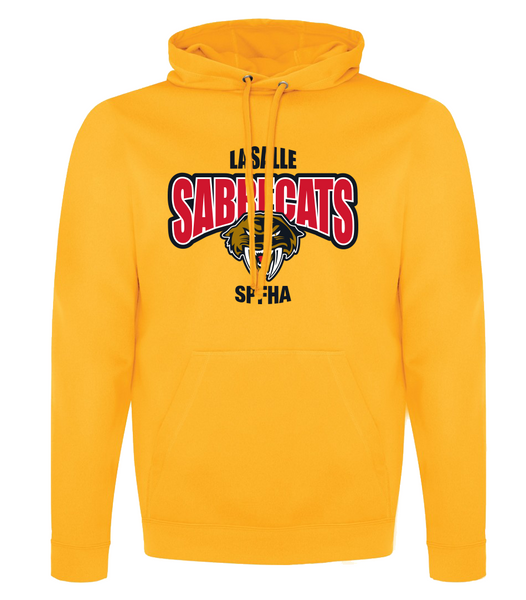 Sabrecats Dri-Fit Youth Hoodie with Embroidered Applique & Personalization