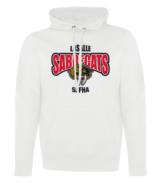 Sabrecats Dri-Fit Adult Hoodie with Embroidered Applique & Personalization