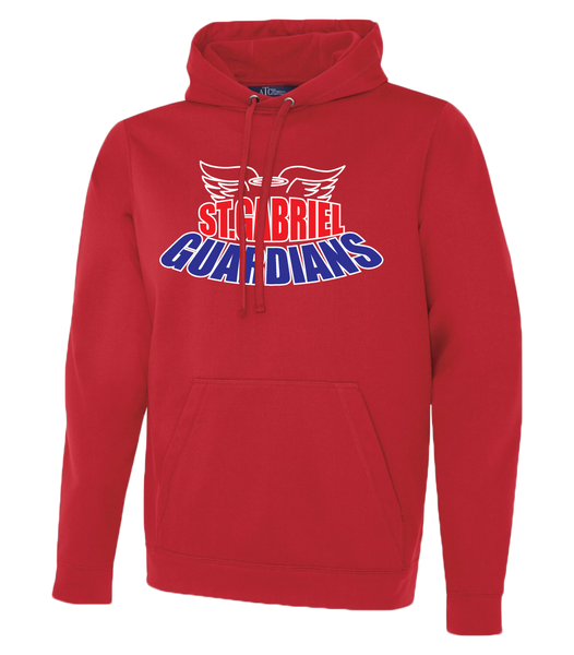 Guardians Adult Dri-Fit Hoodie With Personalized Lower Back