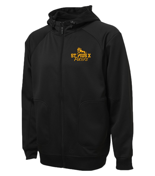 Pacers Staff Adult Hooded Yoga jacket with Embroidered Logo