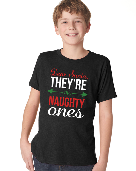 Naughty Ones Youth Short Sleeve T-Shirt