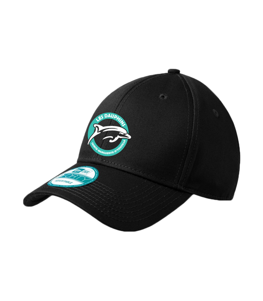 Dauphins Staff New Era Adjustable Structured Cap