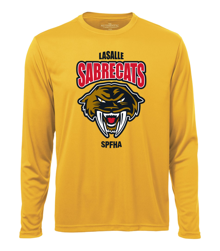 Sabrecats Adult Dri-Fit Long Sleeve with Full Colour Printing