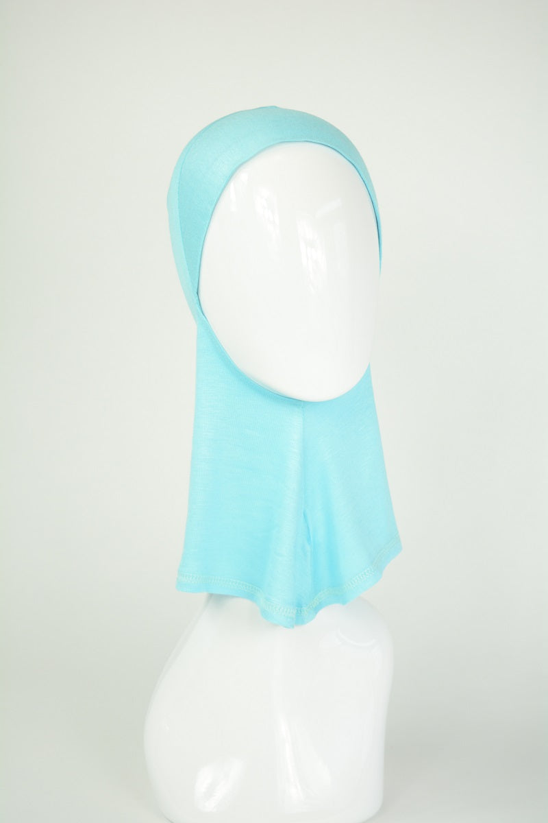 Aqua Knit under scarf- Ninja style