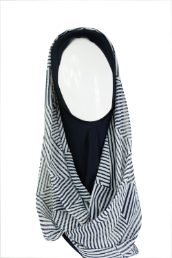 Chiffon Wrap One-piece Hijab