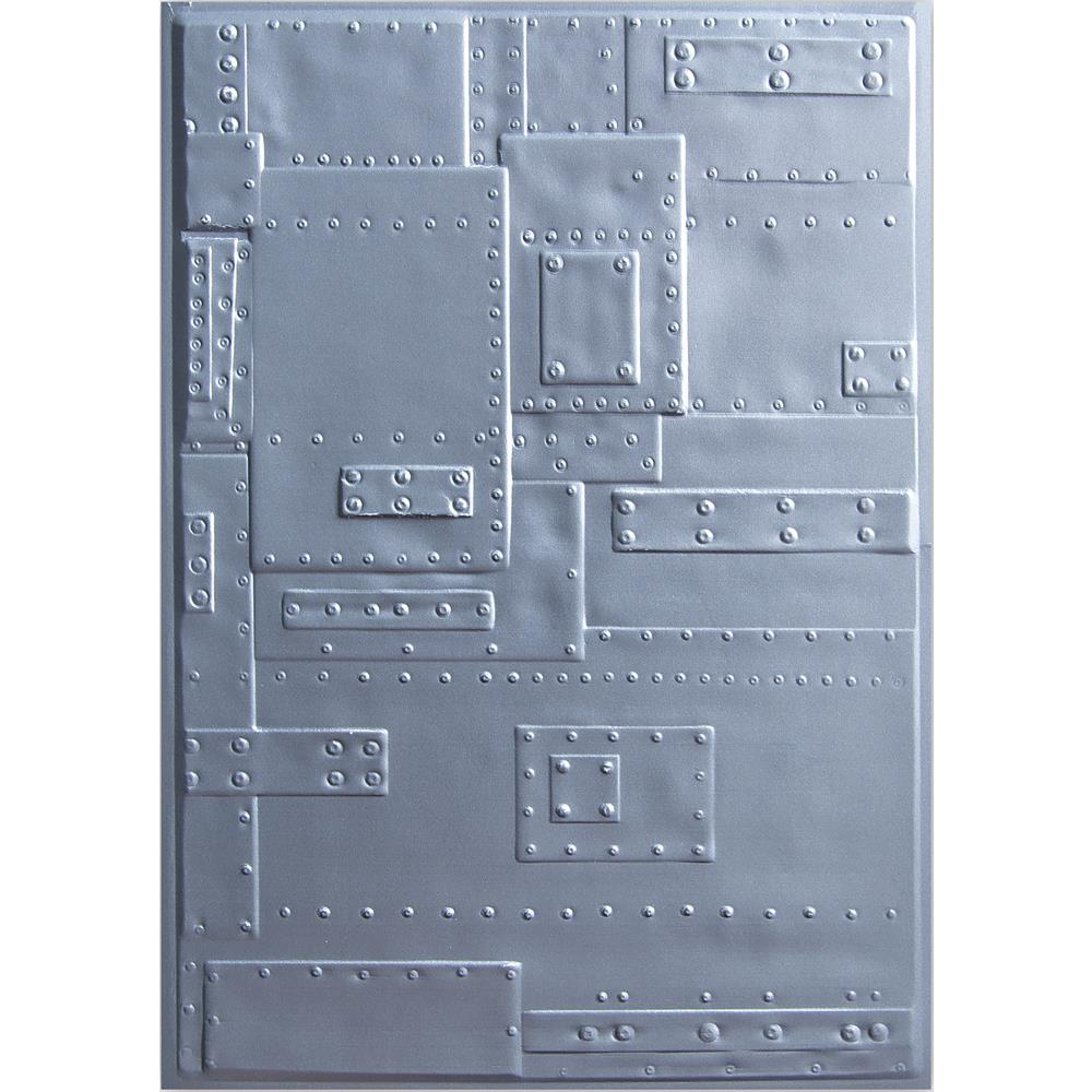 Tim Holtz Sizzix 3D Embossing Folder Texture Fades Foundry 662717