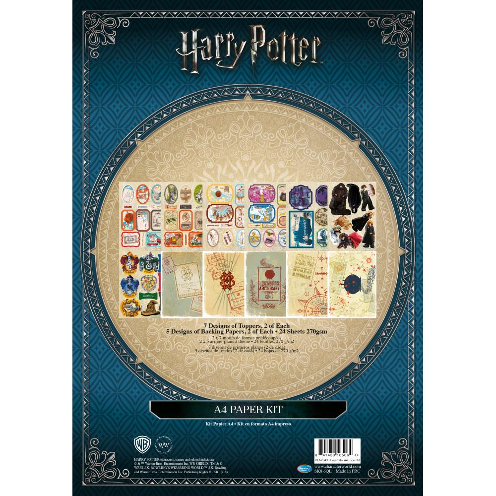 Warner Bros. Harry Potter Paper Kit (437690) | Create and Craft