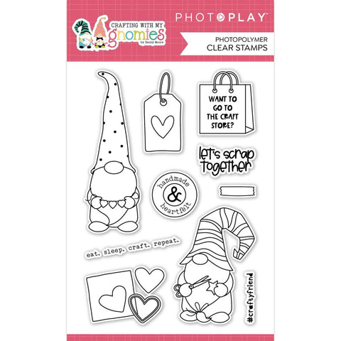Photoplay Paper Crafting With My Gnomies Clear Stamps