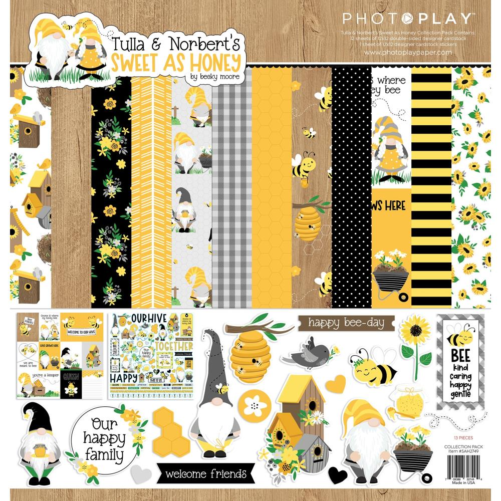 Photoplay Paper Sweet as Honey - Collection Pack 12x12