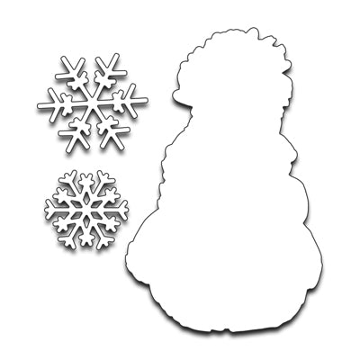 Penny Black Snowy SNOW (METAL DIE)  51-266
