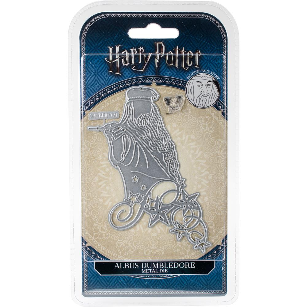 Harry Potter Albus Dumledore Die/Thinlit with Face Stamp