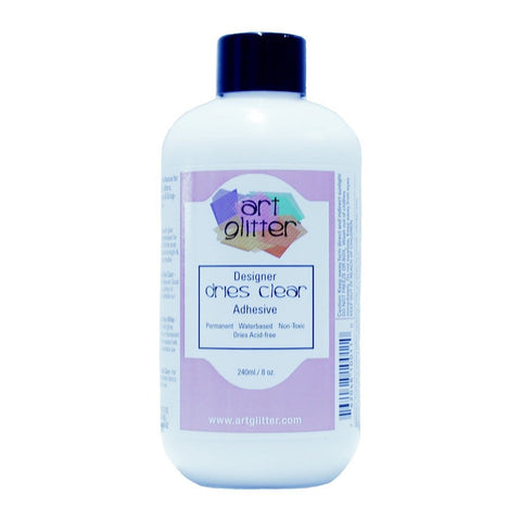 Art Glitter Glitter Glue Clear 8 oz