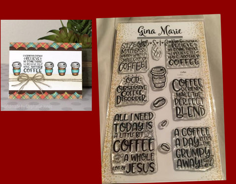 Gina Maire Designs Coffee Sayings