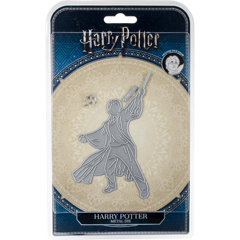 Harry Potter Die/Thinlit - Harry Potter with Face Stamp