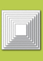 Memory Stitched Square Layers by Memory Box