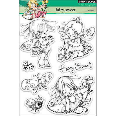 Penny Black Clear Stamp Fairy Sweet