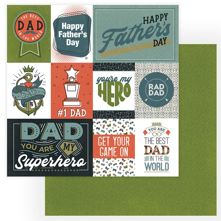 Photoplay/Colorplay Rad Dad Best Dad Cardstock