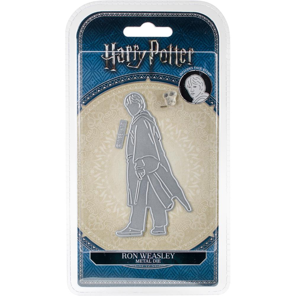 Harry Potter Ron Weasley Die/Thinlit  with Face Stamp