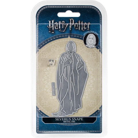 Harry Potter Severus Snape Die/Thinlit with Face Stamp