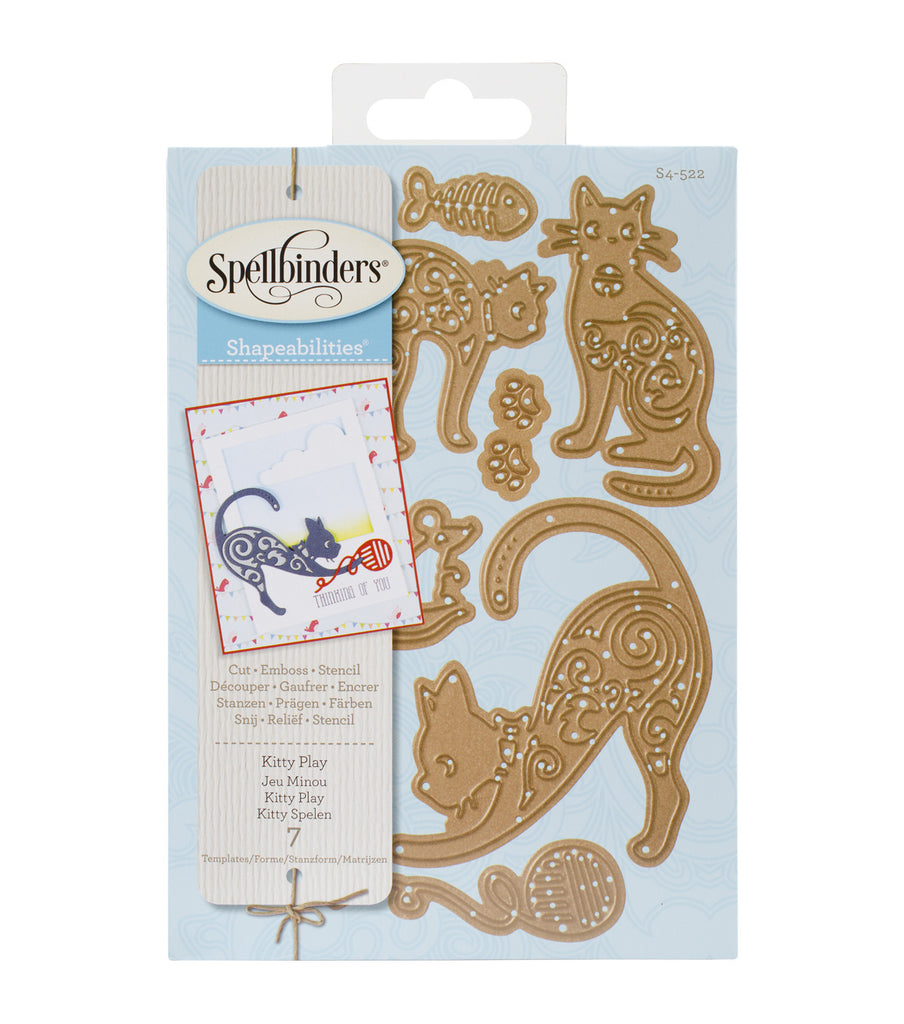Spellbinders Dies Kitty Play