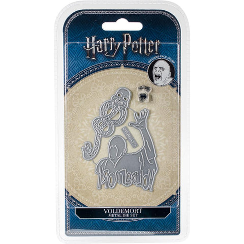 Harry Potter Voldemort Die/Thinlit with Face Stamp