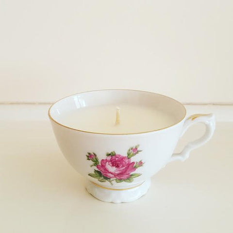 soy tea candle