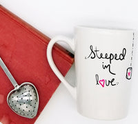 Steeped in Love - Handpainted Mug
